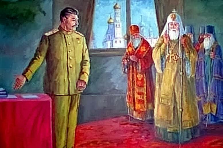 Вызывая призраки. Владислав Шурыгин о том, кто и почему в РПЦ ведёт «крестовый поход» против СССР