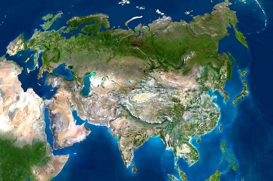 Евразия как географический факт