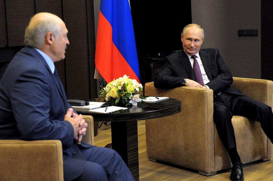 Переговоры Путина и Лукашенко длились пять часов. О чем говорили?