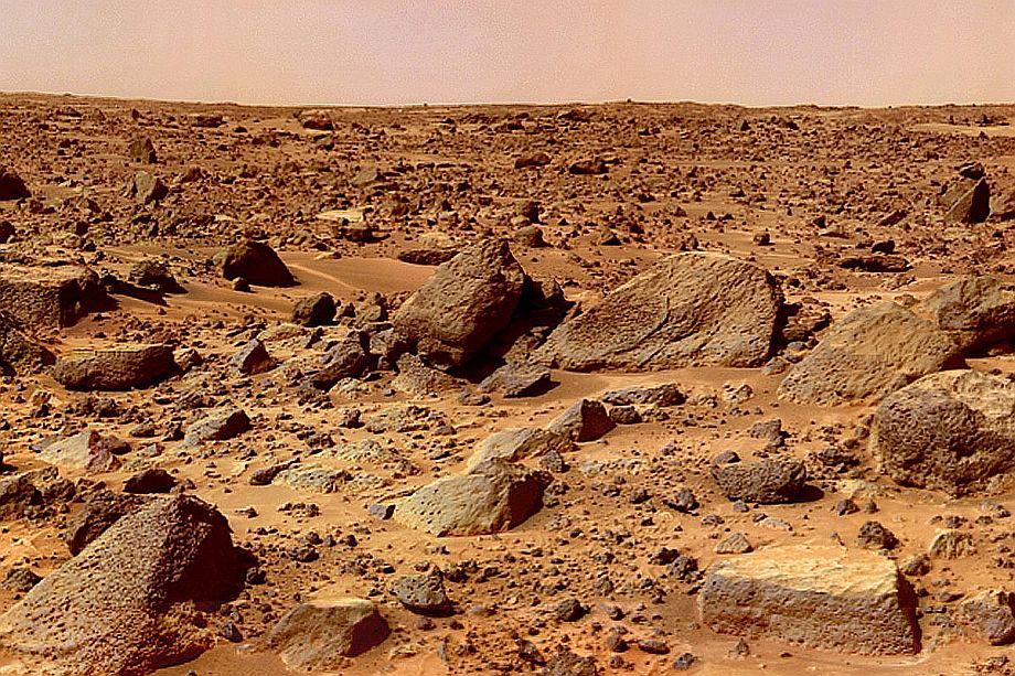 Китайский марсоход начал исследовать поверхность красной планеты