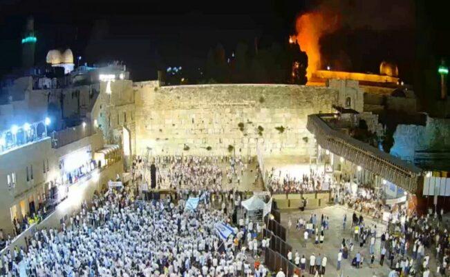 Пожар на Храмовой горе в Иерусалиме возбудил религиозные предрассудки
