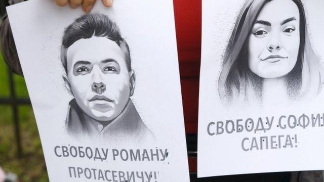 Подставы, версии, интерпретации: Кто посадил Протасевича?