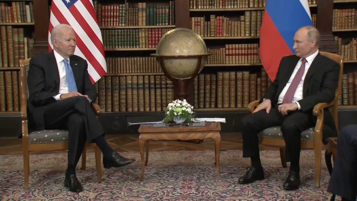 Владимир Путин Джо Байден
