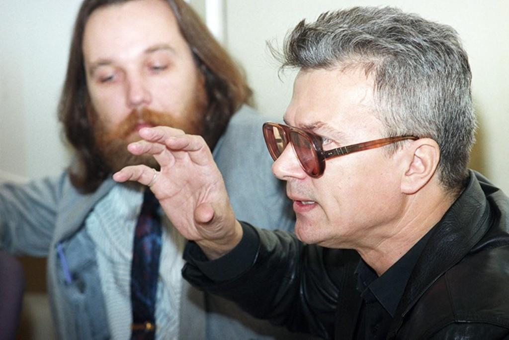 Александр Дугин и Эдуард Лимонов