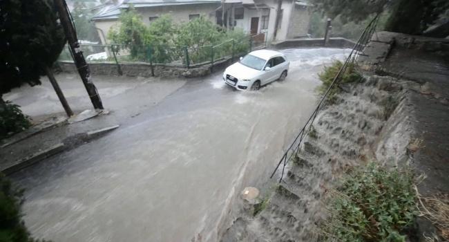 паводок в Ялте