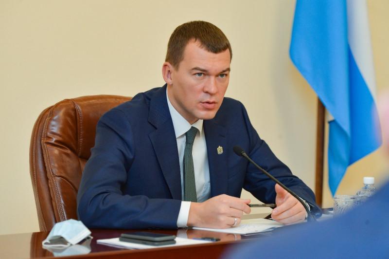 Президент пожелал удачи врио губернатора Хабаровского края