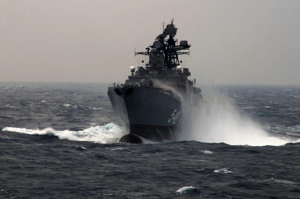 Минобороны проводит крупнейшие учения Тихоокеанского флота