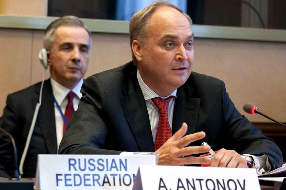 Посол РФ В США Анатолий Антонов призвал посмотреть на реальные дела Соединенных Штатов