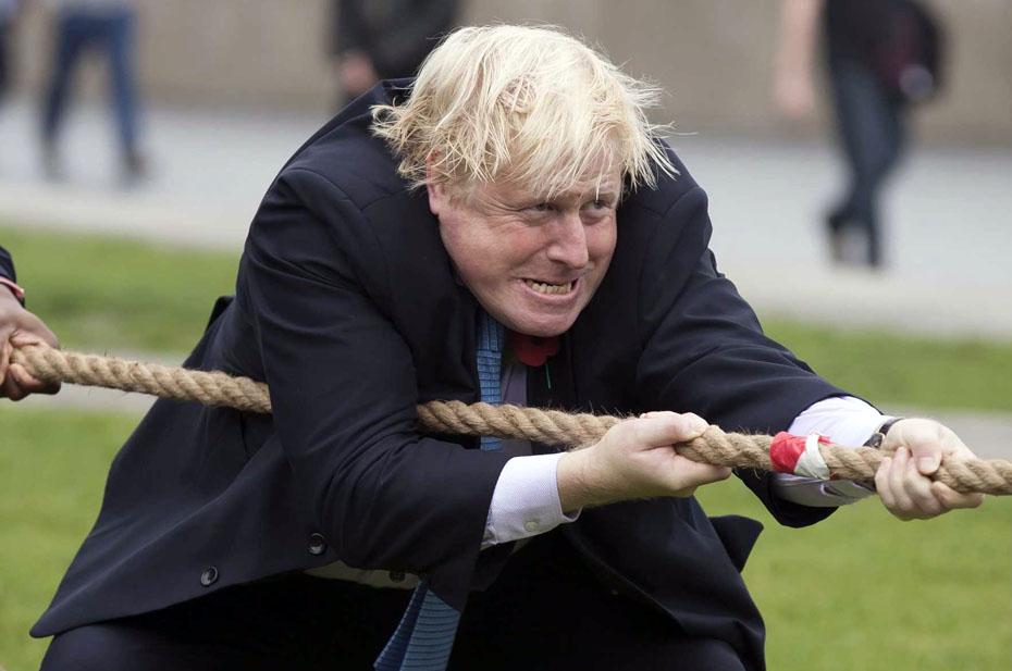 Очень смешная новость о том, как Борис Джонсон в очередной раз пытается спасти свою репутацию