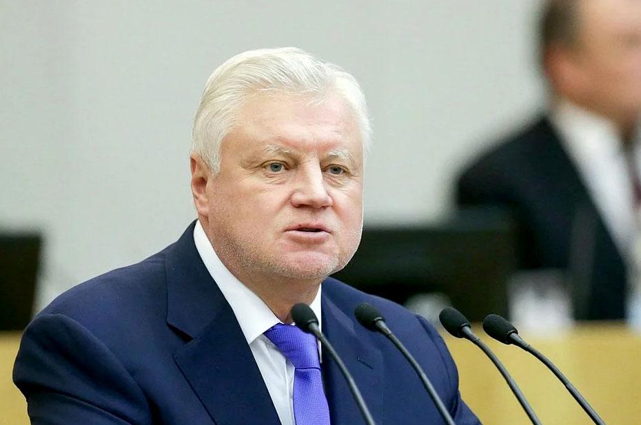 «Я бы постеснялся выдавать такие результаты за достижение». Сергей Миронов обвинил руководство «Единой России» в «подрыве политического фундамента государства»