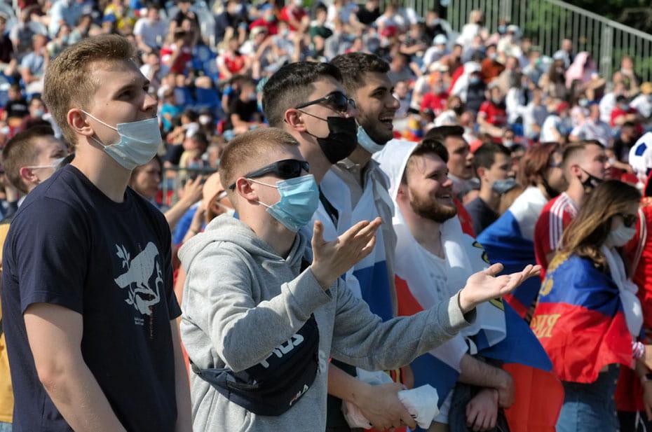 В России хотят запретить массовые мероприятия