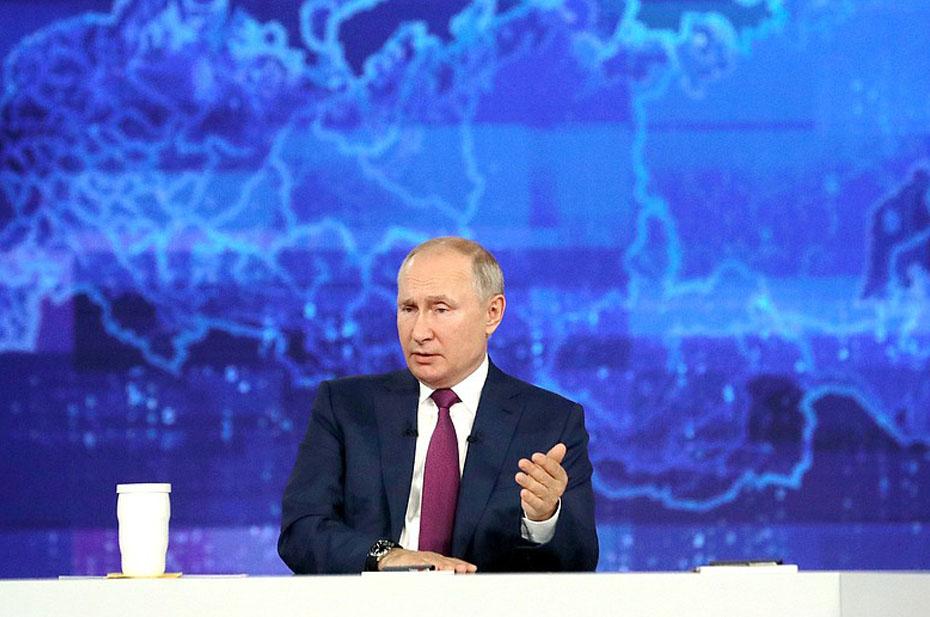Путин объяснил, почему в России растут цены на стройматериалы