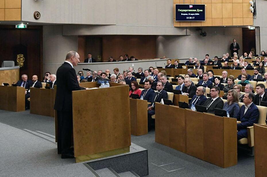Владимир Путин встретится с депутатами Госдумы