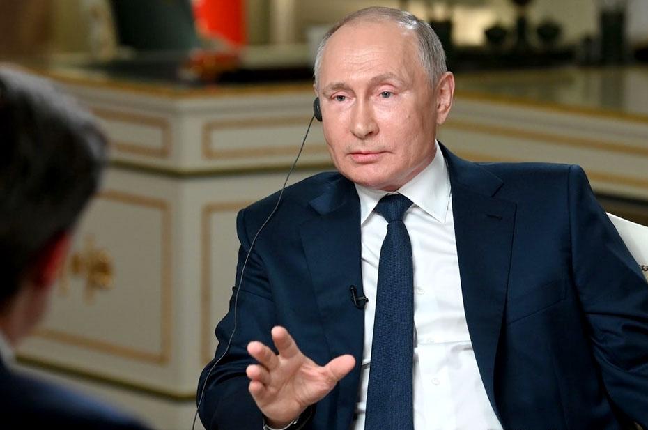 Пять шуток Владимира Путина в интервью телеканалу NBC