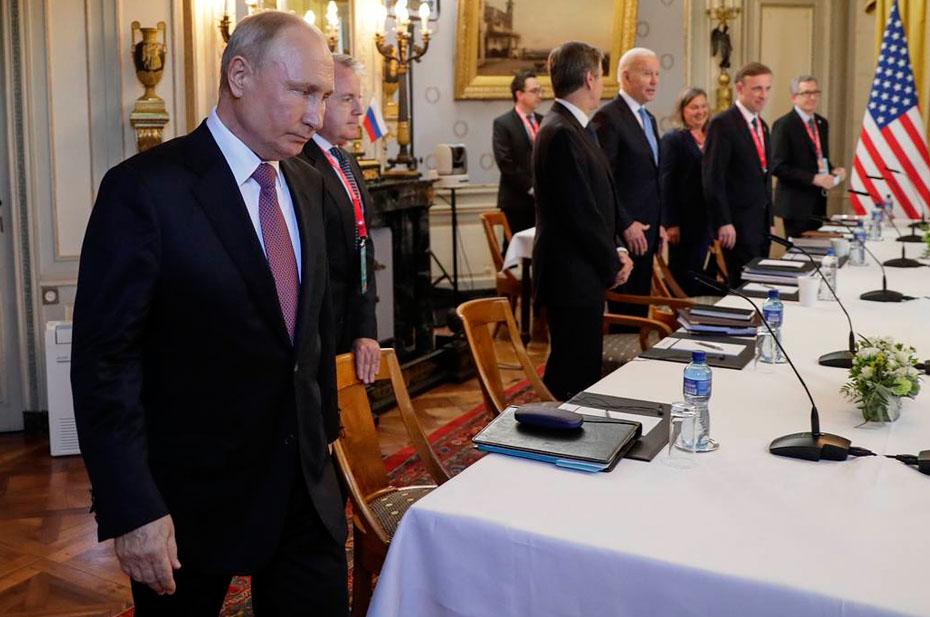 Испанский стыд: встреча Байдена и Путина в Швейцарии
