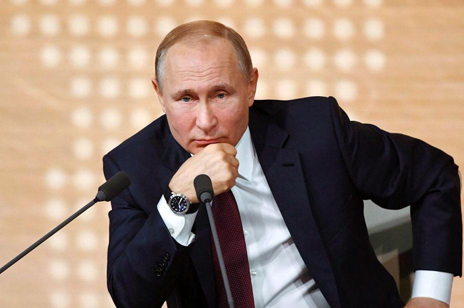 Прямая линия президента России Владимира Путина: трансляция