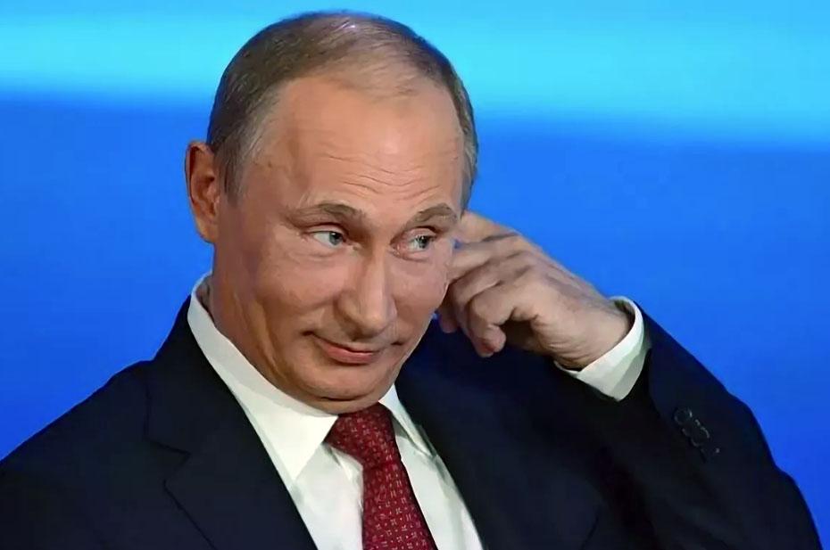 Путин рассказал, какие песни он поет, когда выпьет