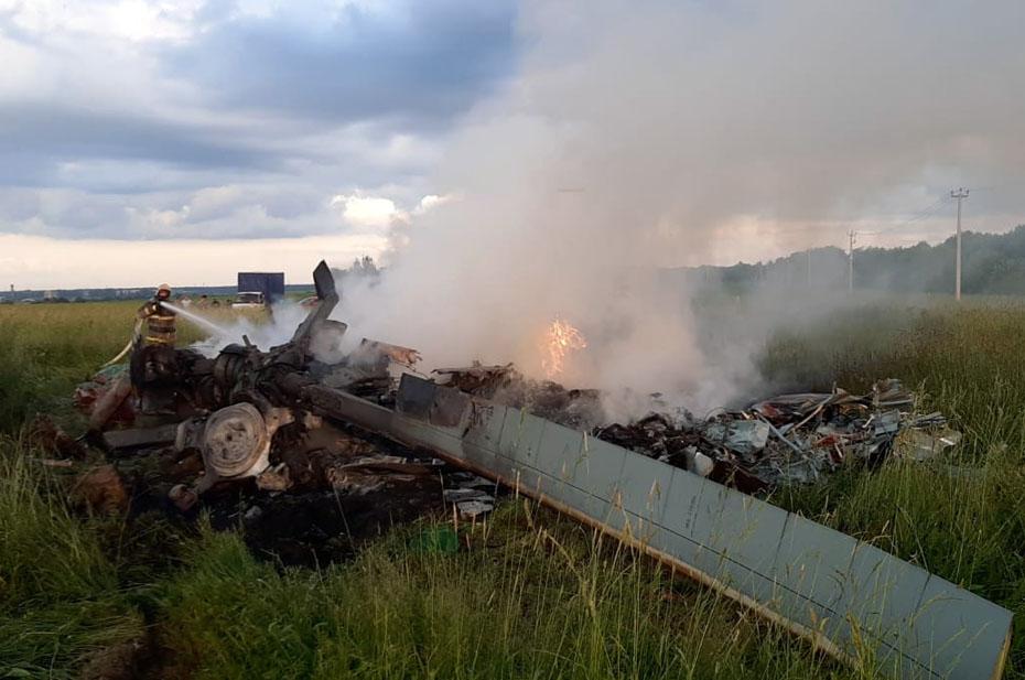 В Госдуме назвали героями погибших пилотов разбившегося вертолета Ми-8