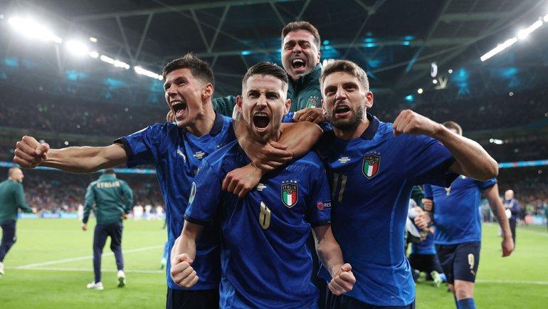 Италия стала победителем Евро-2020