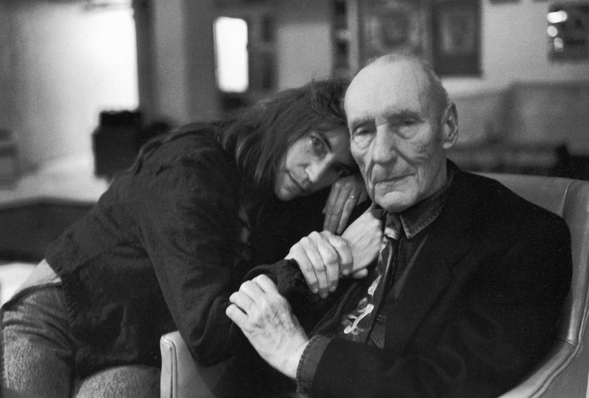 «Крёстная мама панк-рока» Патти Смит и Уильям Берроуз