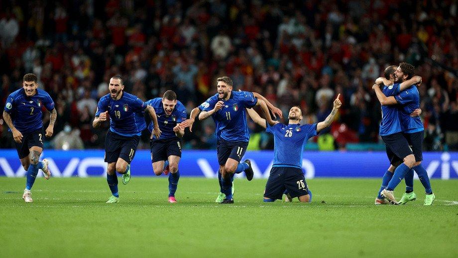 Италия вышла в финал чемпионата Евро-2020