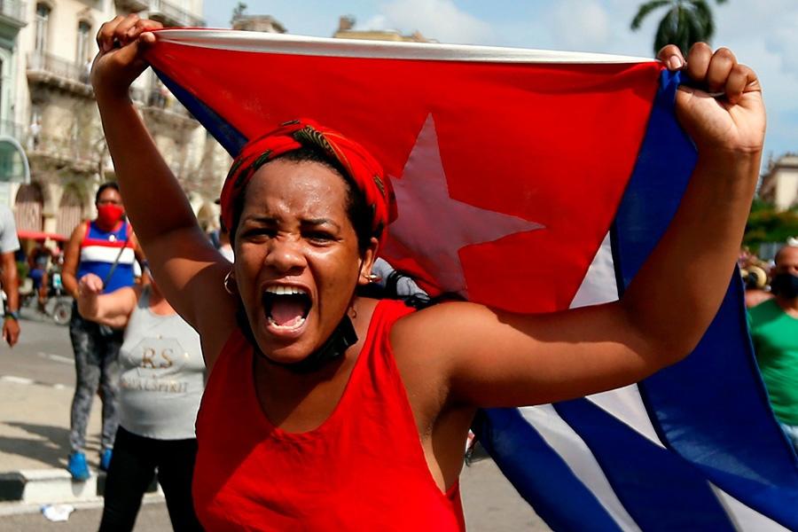 Это сладкое/страшное слово «Куба»