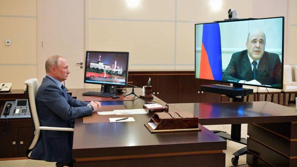 Мишустин поспорил с Путиным
