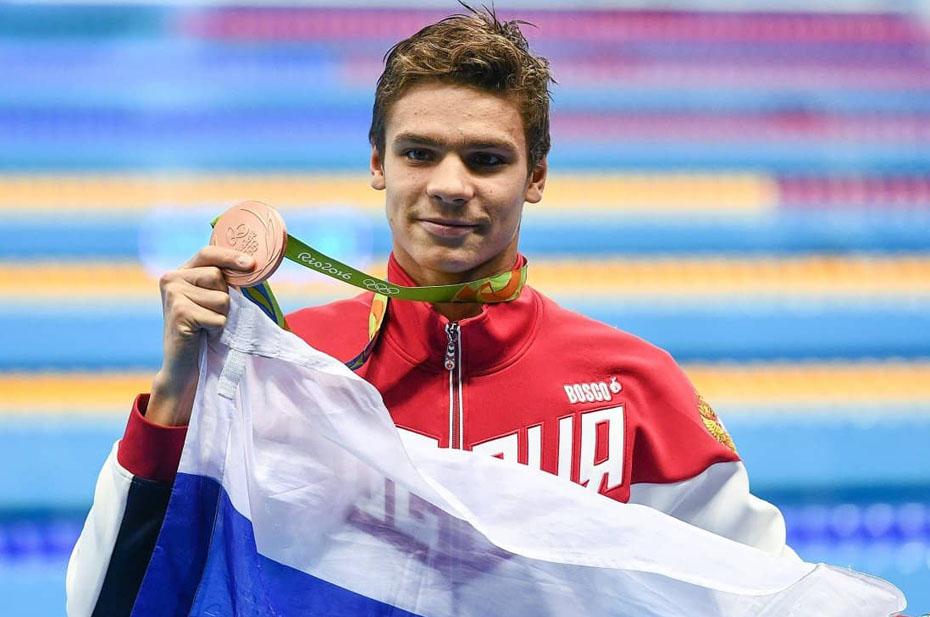 Россияне впервые за25лет завоевали золото Олимпиады поплаванию