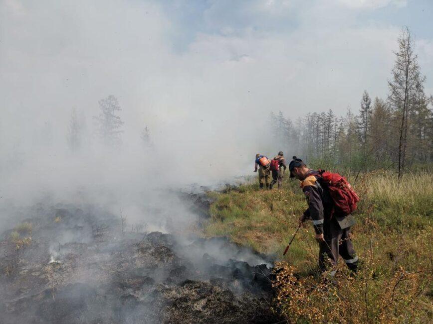 Ущерб от пожаров в Якутии превысил миллиард рублей