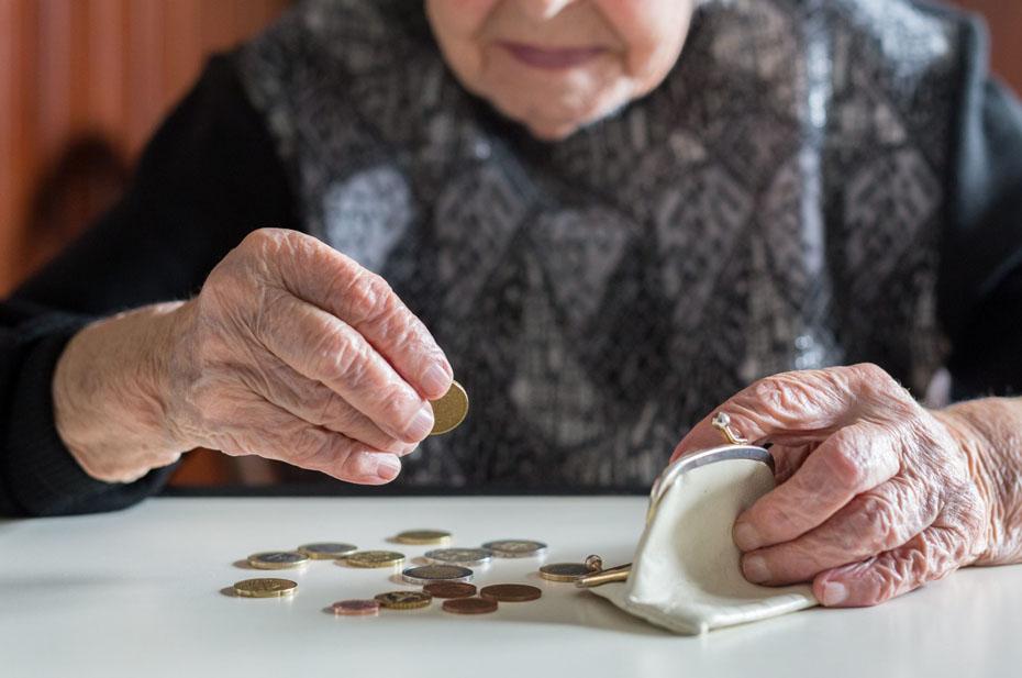 В России снизился реальный размер пенсий