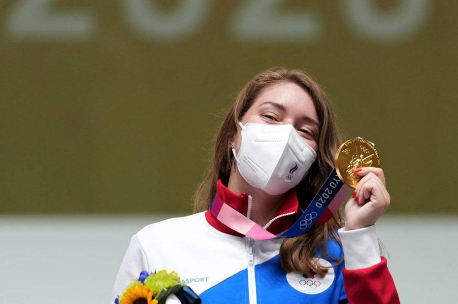 У России на Олимпийских играх уже 10 золотых медалей