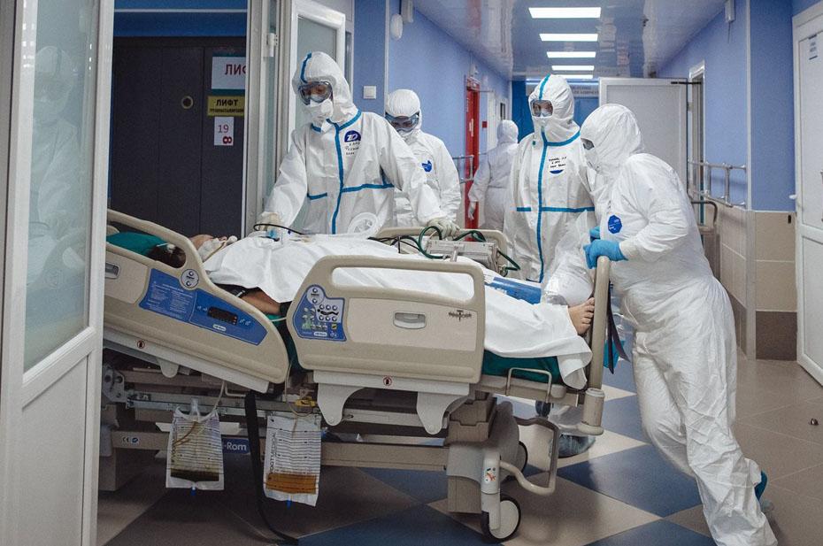 Почти 800 россиян за сутки скончались от коронавируса