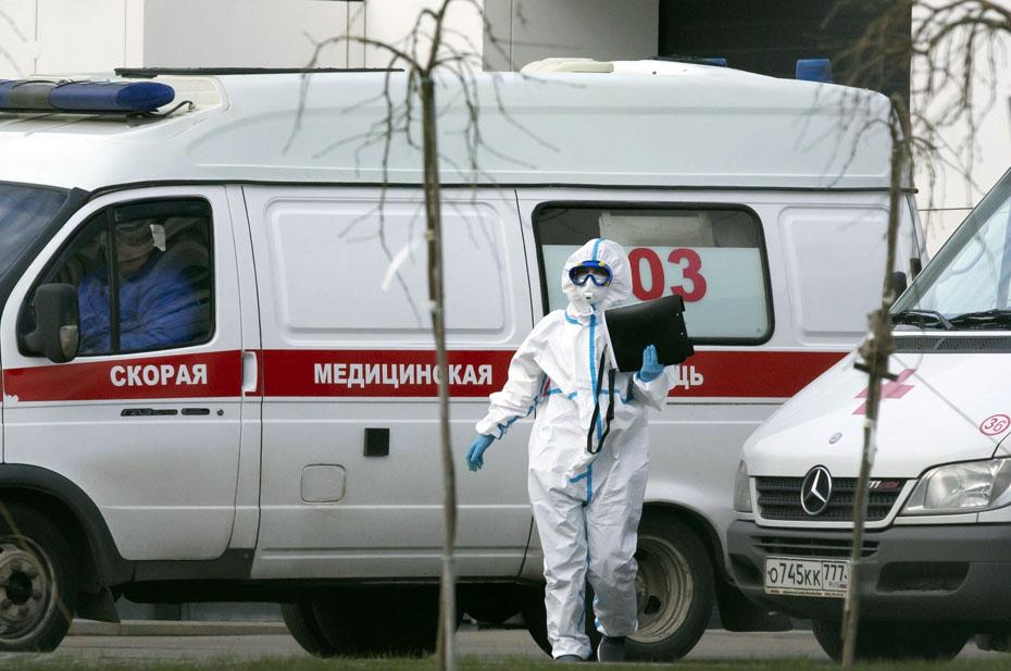 В России зафиксирован рекорд умерших от коронавируса