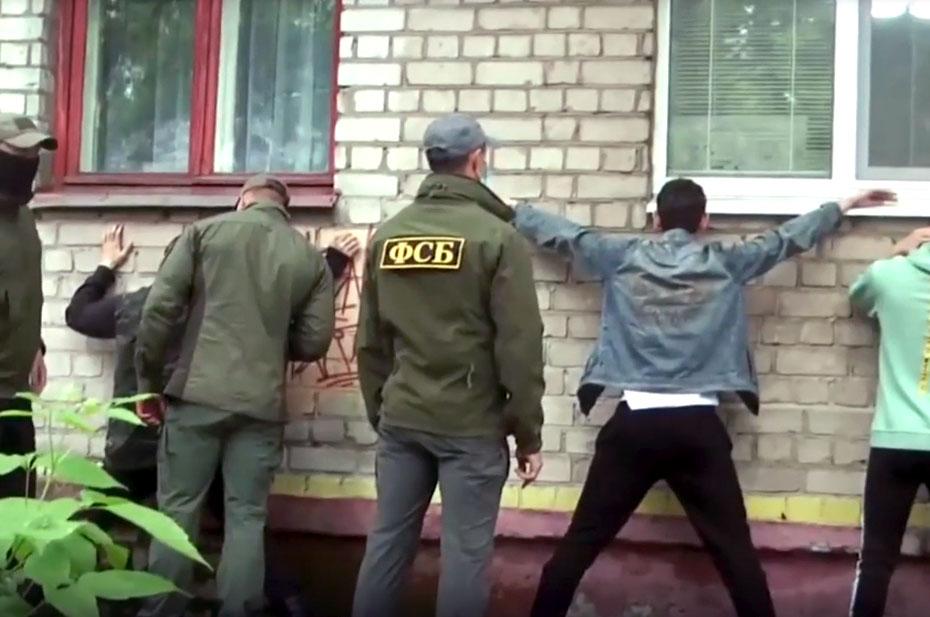 ФСБ задержаны участники двух неонацистских группировок