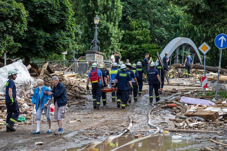 Среди погибших из-за наводнений в Германии было трое россиян