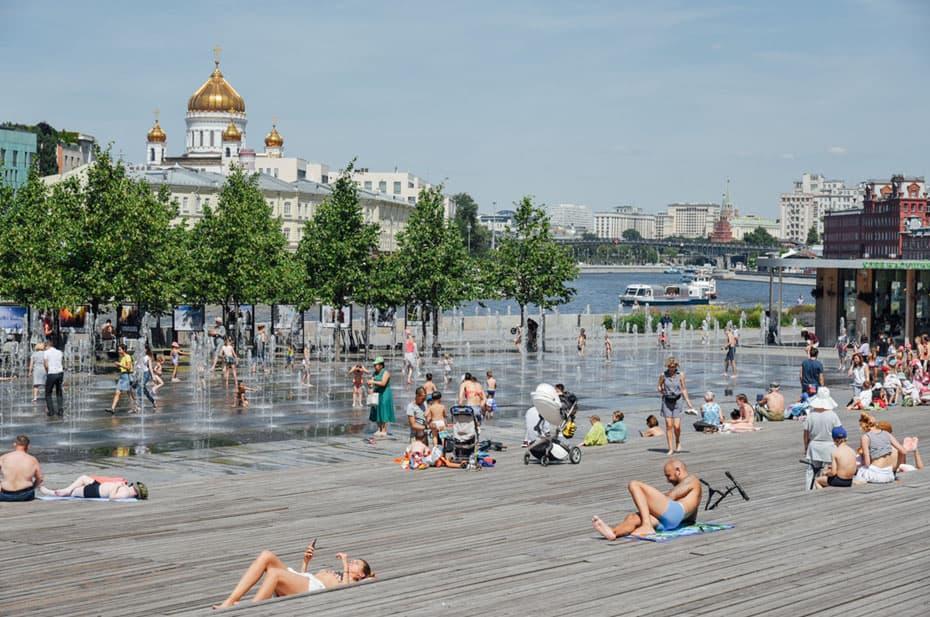 Москва поджарится на солнце: столицу ждут три температурных рекорда за неделю