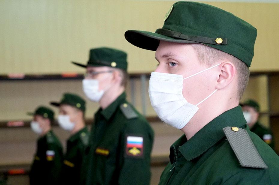 Из-за ковида в армию не попали 3,5 тысячи призывников