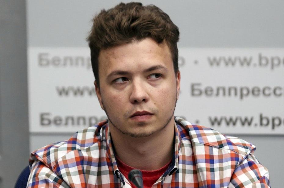 Романа Протасевича заблокировали в Twitter
