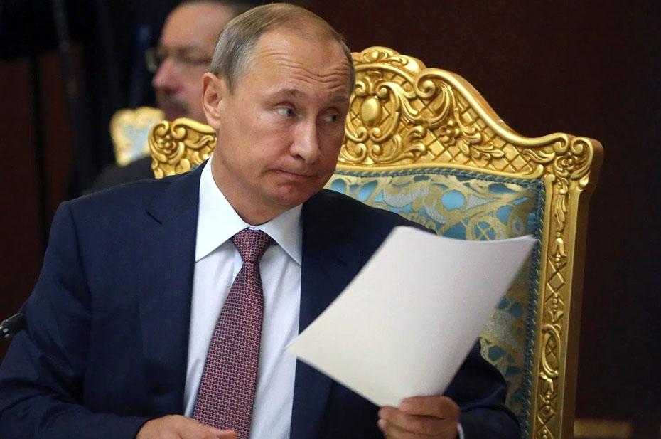 Три конверта президента Путина