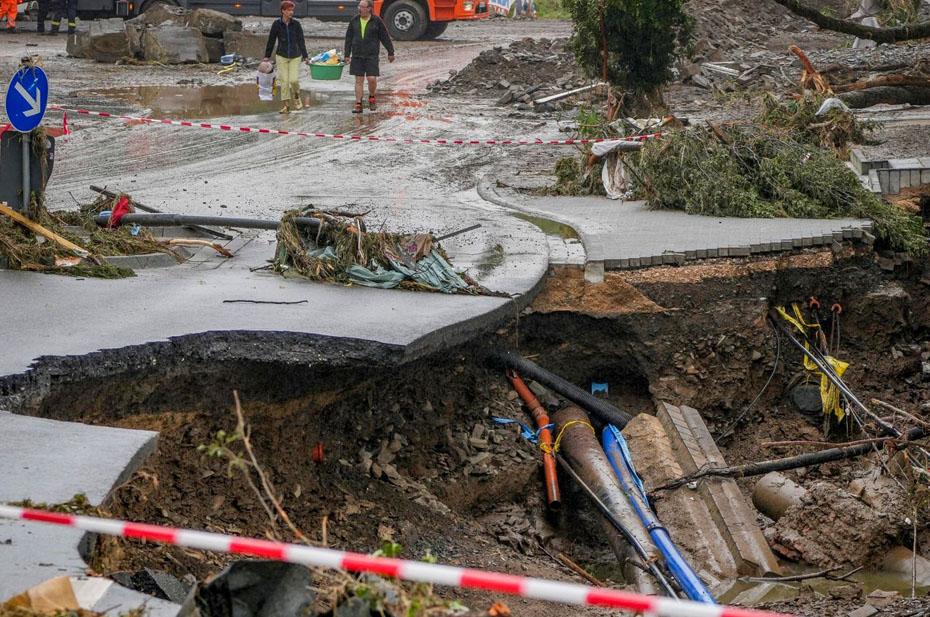 Наводнение в Германии унесло жизни уже 156 человек