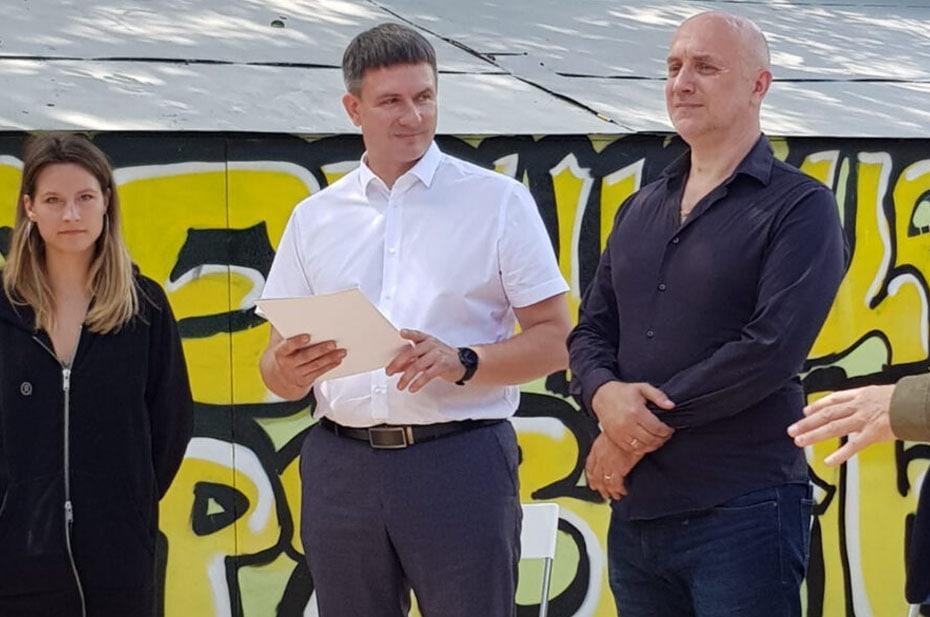 Захар Прилепин открыл Есенин-центр в Рязани