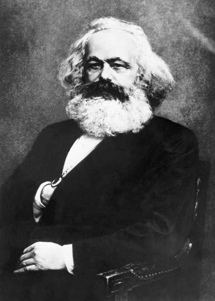 Портрет К. Маркса