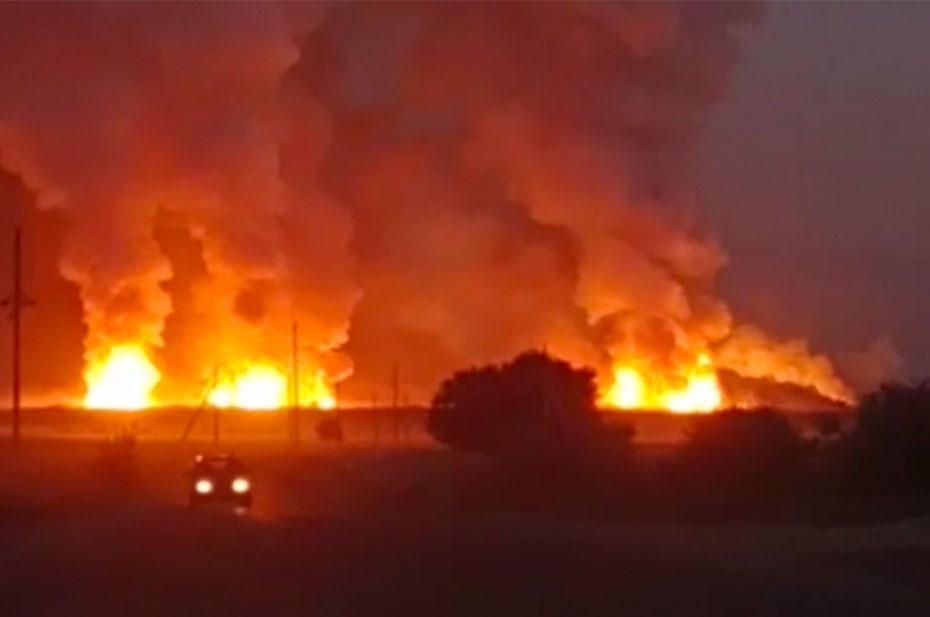 Уже 9 человек стали жертвами взрыва на складе боеприпасов в Казахстане