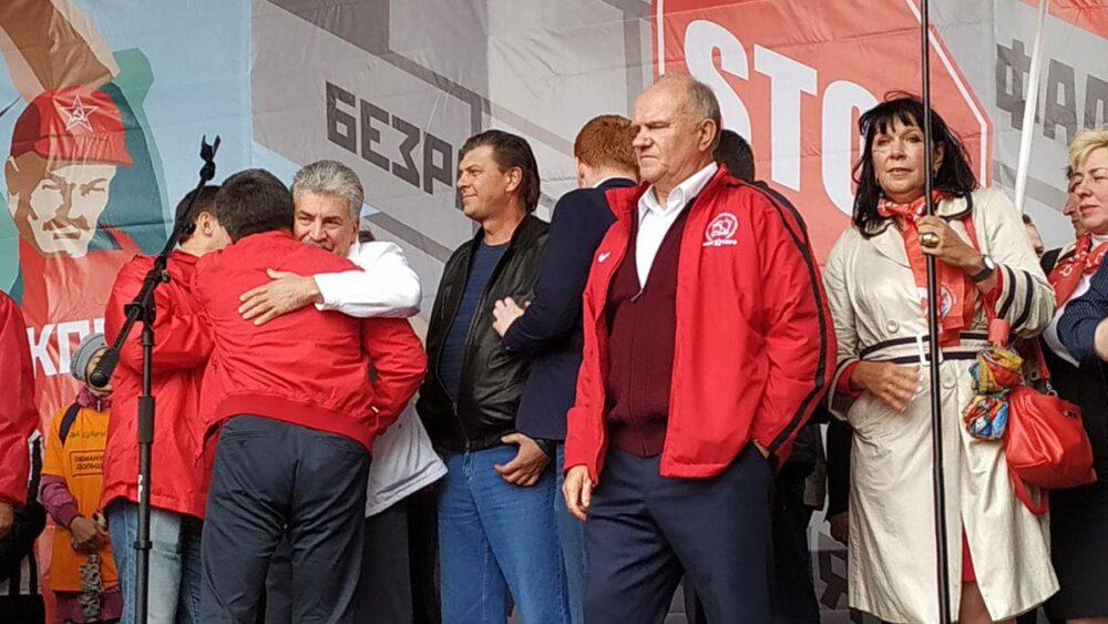 Политолог Глеб Павловский не исключил того, что КПРФ могут снять с выборов в Госдуму