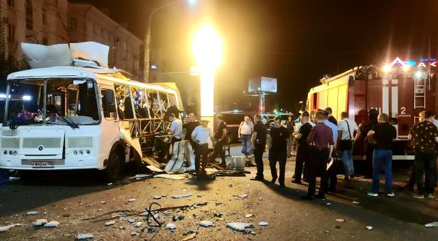 НАК объявил о розыске причастных к взрыву автобуса в Воронеже