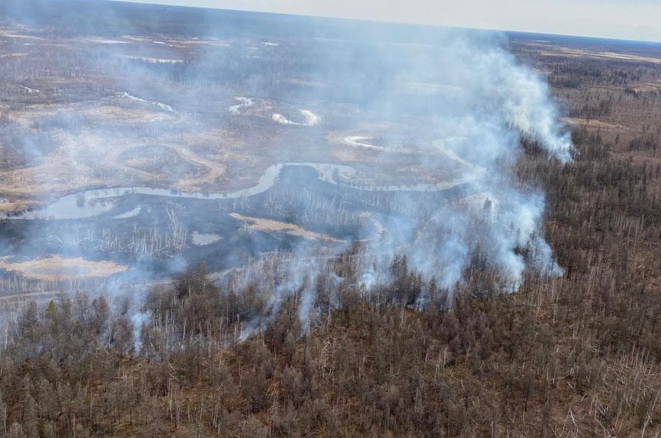 Площадь пожаров в Якутии превысило 7 млн гектаров
