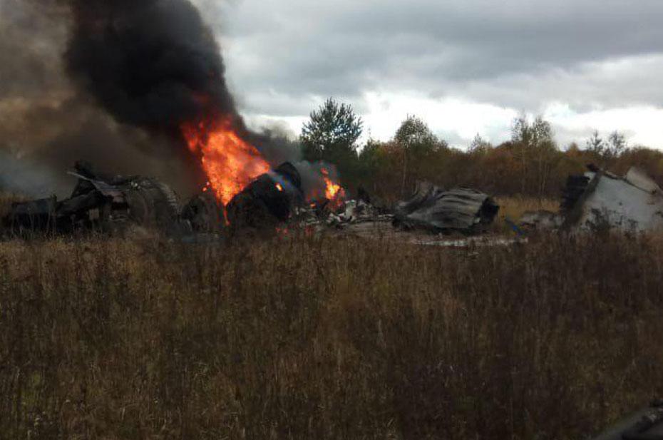 Истребитель МиГ-29 разбился во время тренировочного полета под Астраханью. Это второе крушение за два дня