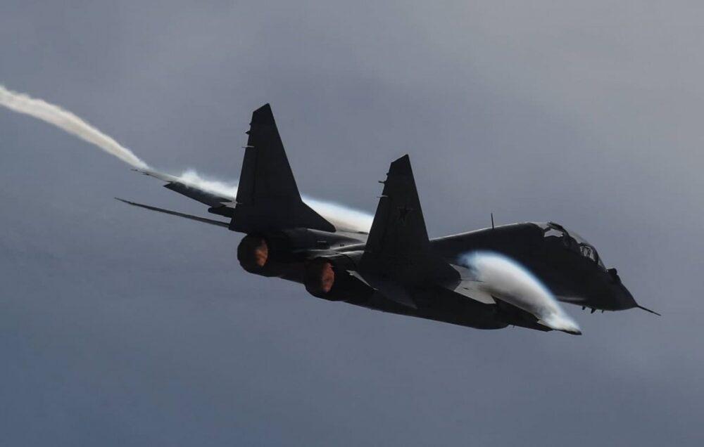 В Астраханской области сгорел еще один МиГ-29