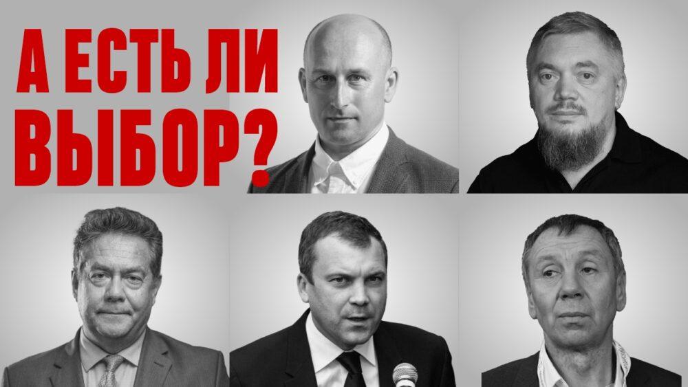 Марков, Платошкин, Попов, Садулаев, Стариков: Есть ли выбор на выборах?