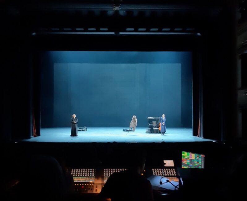 «Война и мир»: предварительный показ нескольких сцен в Вахтанговском театре